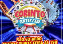 Corinto Center Park estreia nesta quinta-feira em São Gotardo