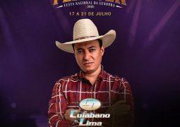 Público pede e Cuiabano Lima está de volta na Fenacen 2019