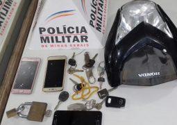 Autores furtam motocicletas em pátio credenciado pelo Detran-MG e são presos pela PM de São Gotardo