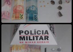 Operação Policial resulta em prisão de traficantes e foragido da Justiça e apreensão de drogas e dinheiro em São Gotardo