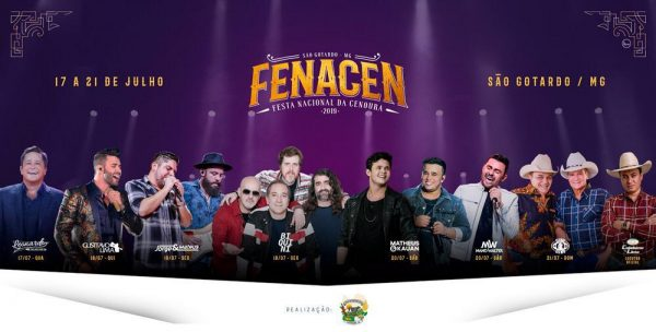 Foto Capa: Divulgação/Fenacen 2019