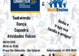 """Está chegando: Uninter e MultiEnsino realizam """"Dia do Movimente-se"""" em São Gotardo"""
