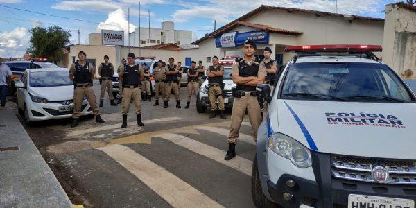 (Foto tirada antes de uma operação policial no dia 21/02/2019) Foto Capa: Assessoria de Comunicação Organizacional da 216ª Cia da PM/15º BPM/10º RPM