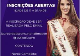 Inscrições para seletiva de escolha das candidatas a Rainha da Fenacen 2019 iniciam em São Gotardo
