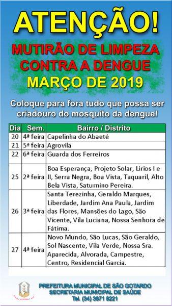 Foto Capa: Prefeitura Municipal de São Gotardo
