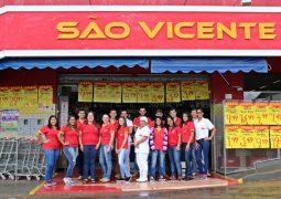 Supermercado São Vicente completa 22 anos de existência e história em São Gotardo