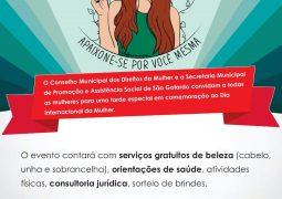 Conselho Municipal dos Direitos da Mulher e a Secretaria Municipal de Promoção e Assistência Social de São Gotardo promovem tarde especial em celebração do Dia Internacional da Mulher