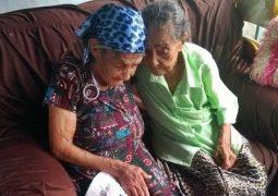 Amor Fraternal: Irmãs de 99 e 101 anos naturais de São Gotardo se reencontram após 75 anos