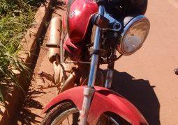 Homem é preso na MG-235 em São Gotardo após ser flagrado em moto furtada