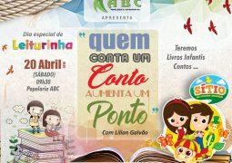 """Em comemoração ao Dia do Mundial do Livro, Papelaria ABC convida população São-Gotardense para o """"Dia de Leiturinha"""""""