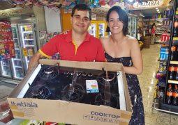 Supermercado São Vicente realiza sorteio em comemoração aos seus 22 anos em São Gotardo