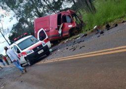 Motorista de São Gotardo morre em grave acidente na BR-352 em Tiros