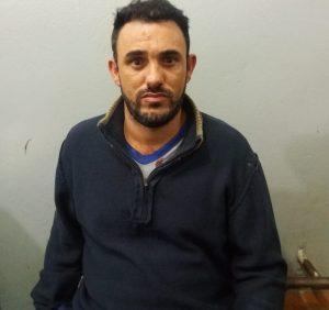 Autor do crime foi localizado e preso (Foto: PM)