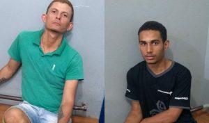 Autores foram presos em flagrante (Foto: PM)
