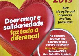 Hora de solidarizar: Campanha do Agasalho 2019 começa em São Gotardo