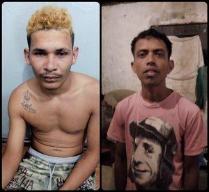 Autores maiores presos (Foto: PM)