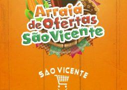 Festa Junina combina com Alegria e Economia, que combina com Supermercado São Vicente!