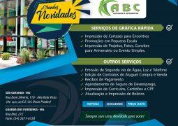 Papelaria ABC passa a oferecer serviços de gráfica rápida em São Gotardo e Guarda dos Ferreiros