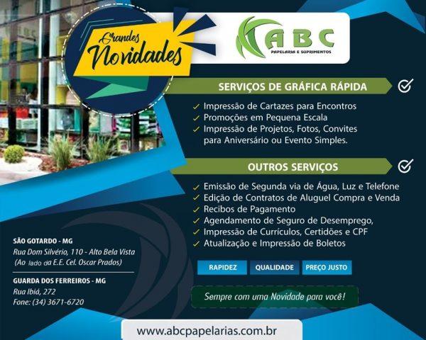 Foto Capa: Papelaria ABC