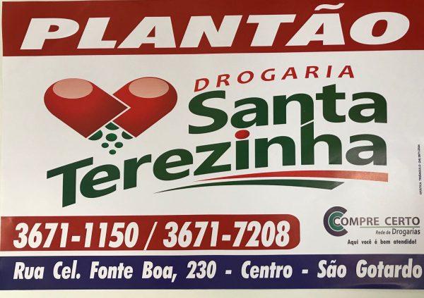 Foto Capa: Reprodução/Drogaria Santa Terezinha