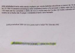 Golpe do boleto: Estelionatário envia documento com falsa multa para comerciante em São Gotardo