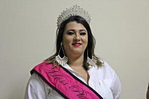 Priscila Amaral - Miss Plus Size 2018 de São Gotardo (Foto: SG AGORA)