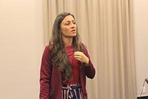 Palestrante Amanda Oliveira (Foto: SG AGORA)