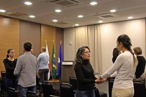 Primeiro treinamento realizado em São Gotardo (Foto: SG AGORA)