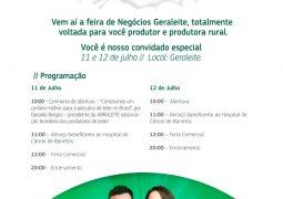 Anote a data: Vem aí a 1ª Feira de Negócios Geraleite em São Gotardo