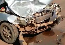 Grave acidente é registrado na via lateral da MG-235 em São Gotardo