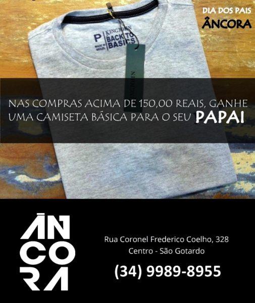 Foto Capa: Divulgação/Loja Âncora Clothing de São Gotardo