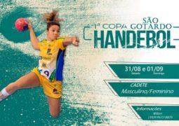 Com equipes da cidade e região, 1ª Copa São Gotardo de Handebol acontece neste final de semana