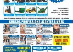 Em parceria com a APAE, escola referência em cursos Profissionalizantes chega em São Gotardo