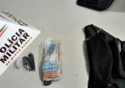 Autores furtam cerca de 30 mil reais em São Gotardo e acabam presos pela PM