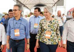 Governador de Minas participa da abertura da Fenacampo em São Gotardo