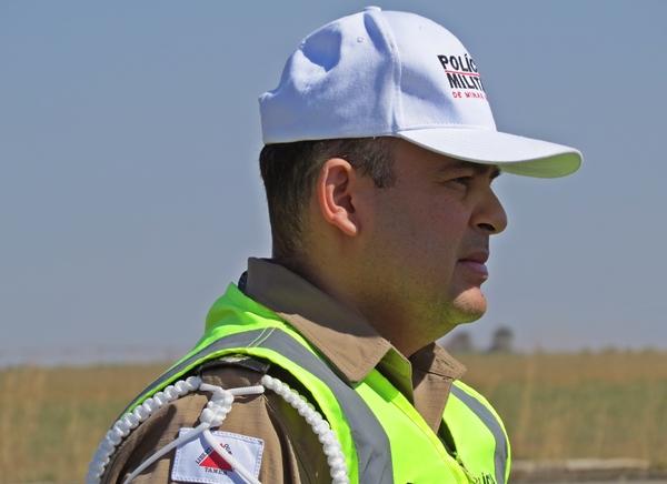(Comandante da PMR Capitão Marco Aurélio) / Foto Capa: Diego Oliveira/Portal SG AGORA