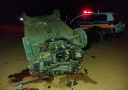 Idosa morre durante grave acidente em estrada vicinal de São Gotardo