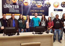 Termina hoje: Inscrições para o vestibular Uninter se encerram nesta segunda-feira em São Gotardo