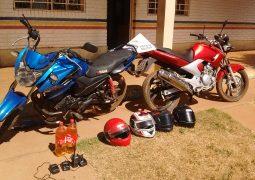 Motos furtadas em São Gotardo são recuperadas pela PM em Rio Paranaíba