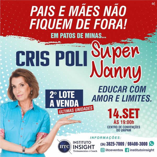 Foto Capa: Assessoria de Imprensa/Instituto Insight/Patos de Minas