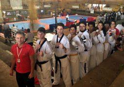 Academia Scorpions de Taekwondo de São Gotardo fatura cinco medalhas de ouro e duas de prata em competição em Caeté-MG