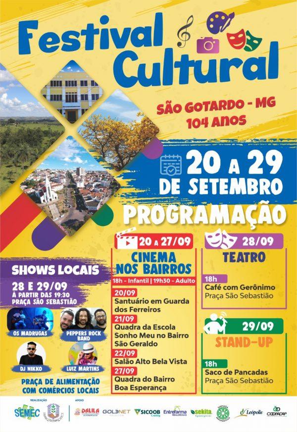 Foto Capa: Secretaria Municipal de Educação, Cultura e Turismo de São Gotardo (SEMEC)