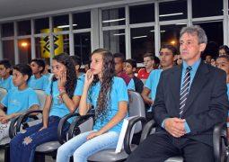 """Alunos da Academia Scorpions de Taekwondo de São Gotardo participam de projeto """"Aluno Cidadão 2019"""""""