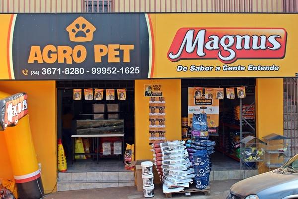 Loja AgroPet está situada na Avenida Nossa Senhora de Fátima (Foto: SG AGORA)