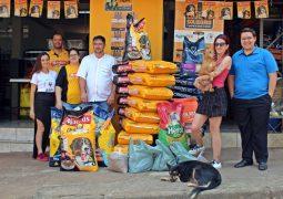 Aniversário Social: AgroPet realiza campanha comemorativa em São Gotardo e arrecada 440 Kg de rações para a Aspa