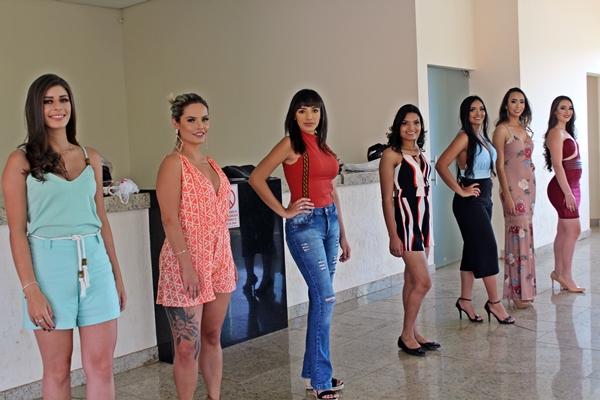 Candidatas ao Concurso Miss e Mister São Gotardo (Foto: SG AGORA)