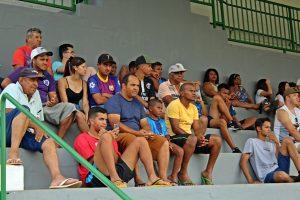Torcida compareceu ao estádio (Foto: SG AGORA)