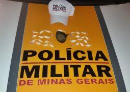 Motorista é preso por tráfico de drogas e embriaguez na MG-235 em São Gotardo