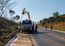 Radares da BR-354 entre Patos de Minas e São Gotardo começam a ser retirados
