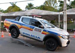 Polícia Militar de Matutina recebe nova viatura para o município